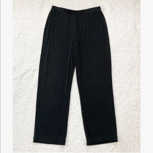 Chico's Travelers Black Slinky Travel Knit Pants 3